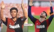 Messi s'offre un magnifique but et rend hommage à la Légende Diego Maradona