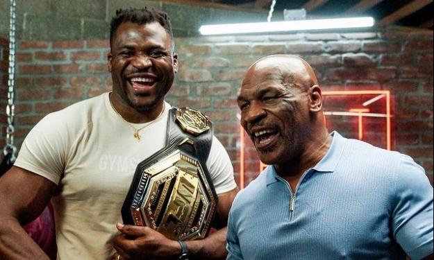MMA : Quand Francis N'Gannou prend des cours de boxe avec Mike Tyson