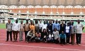 Mondial 2022 (Q) : Ebimpé, Champroux et Parc des Sports passés au peigne fin par les Experts de la CAF (Images)