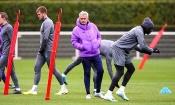 Mourinho et les Spurs s'offrent leur 1er entraînement collectif depuis le début du confinement