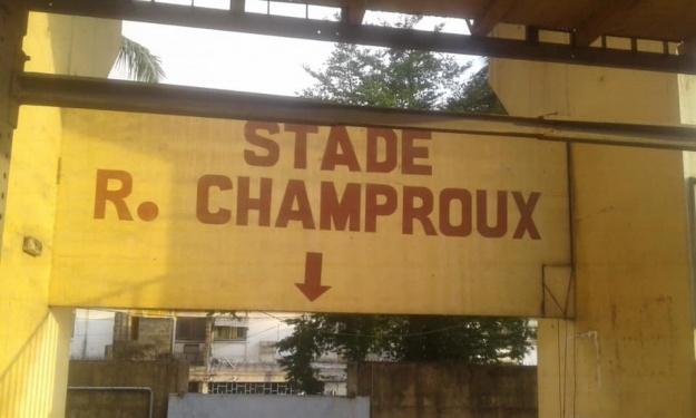 MTN Ligue 1 : L'avancement des travaux du Stade Robert Champroux en images
