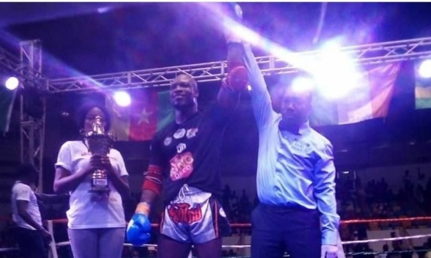 Muay Thai : Nouveau titre et record à la clé pour l'Ivoirien Oly Yves Roland alias ''La Machine'' (vidéo)