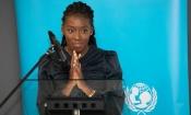 Murielle Ahouré renforce ses liens avec l'UNICEF