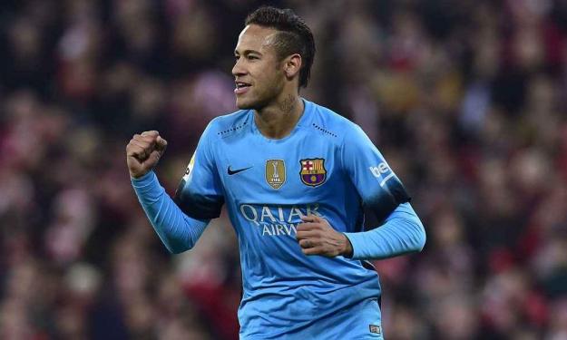 Neymar, au FC Barcelone jusqu'en 2021