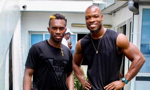 Niangbo Anderson s'entraîne avec le Champion d'Afrique de Muay-thaï