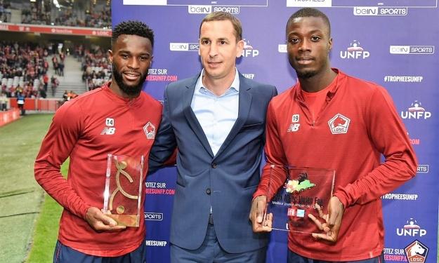 Nicolas Pépé devient le 3è Ivoirien à remporter le Prix Marc Vivien Foé