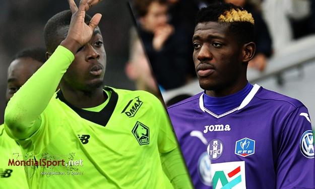Nicolas Pépé et Ibrahim Sangaré sont les joueurs les plus chers de leurs clubs