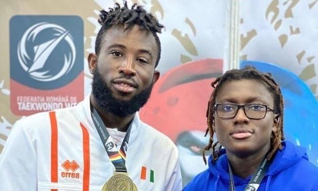 Taekwondo / Open de Roumanie : Cissé Cheick en Or, Gbagbi Ruth en Argent