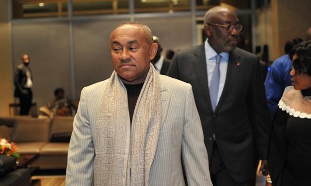 Organisation CAN 2021 & 2023 : Ahmad Ahmad (Pdt de la CAF) est à Abidjan