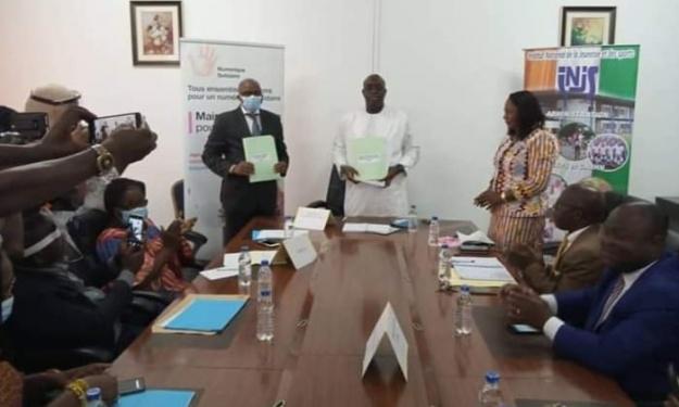 Partenariat : La Fondation Orange Côte d'Ivoire s'engage aux côtés de l'INJS