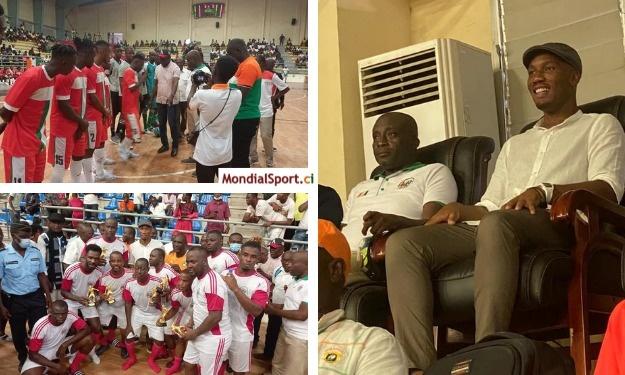 Petits poteaux : La Côte d'Ivoire bat le Sénégal en présence d'invités de marque
