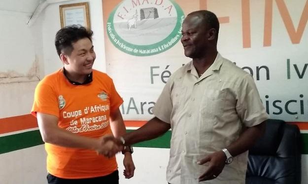 Pratique du Maracana : La Chine vient apprendre aux côtés des experts Ivoiriens