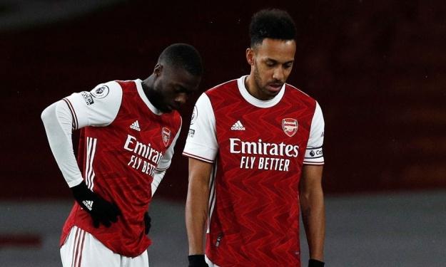 Premier League (13è J.) : Arsenal toujours tête basse malgré le retour de Pépé