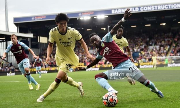 Premier League : Arsenal et Pépé s'imposent face à Burnley pour la première de Maxwel Cornet