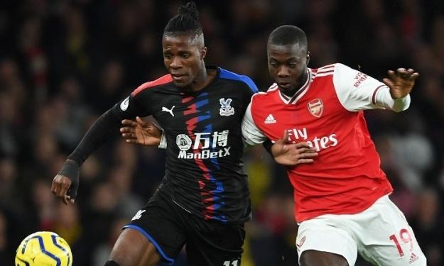 Premier League : Pépé et Zaha coupent la poire en deux (Les images inédites  du duel Ivoirien)