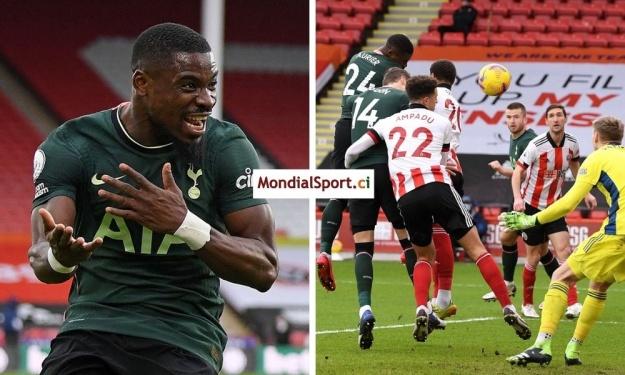Premier League : Quand Aurier se prend pour Drogba, ça fait forcément but