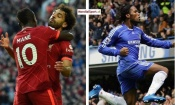 Premier League : Salah égale le record de Drogba, Mané atteint la barre des 100 buts