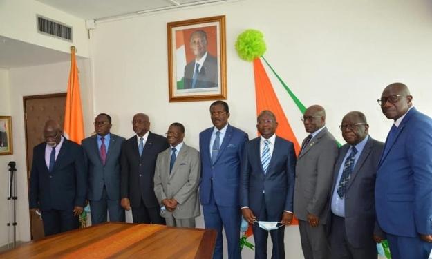 Présidence CAF : Un comité de sages mis en place pour accompagner la candidature de Jacques Anouma