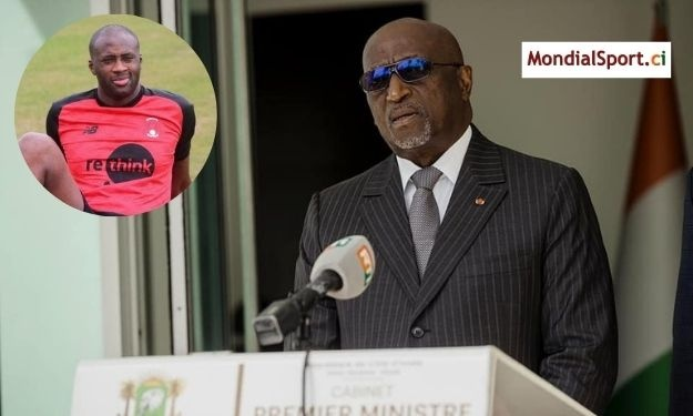 Présidence CAF : Yaya Touré apporte son soutien à Jacques Anouma