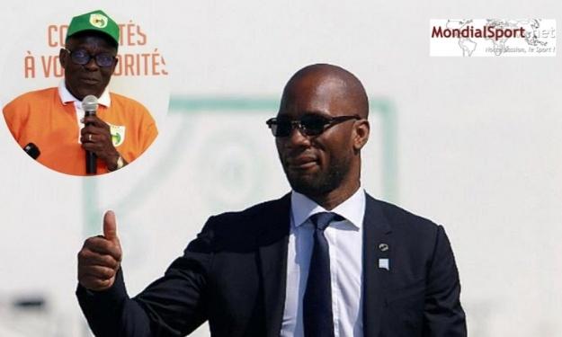 Présidence de la FIF : Yéo Martial se prononce sur la candidature de Drogba