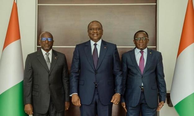 Présidentielle CAF : Jacques Anouma reçoit une bonne nouvelle de la part du 1er Ministre Hamed Bakayoko