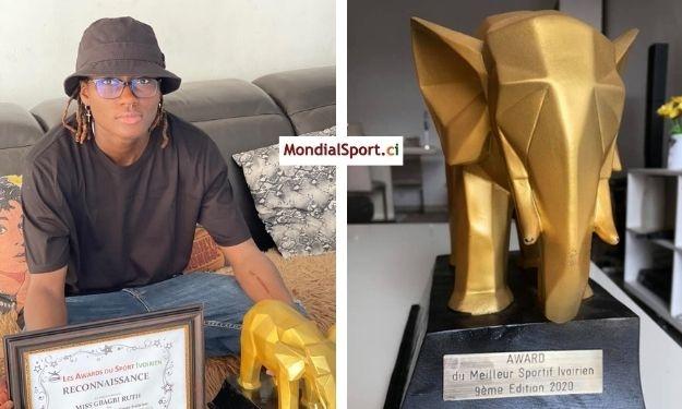 Prix Sport Plus : Gbagbi Ruth élue meilleure athlète de l'année
