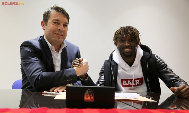 Prolongation de contrat pour Charles Boli à Lens