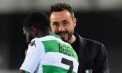 Roberto De Zerbi (entraineur de Sassuolo) : ''Si Boga manque de volonté, alors je le laisse partir…''