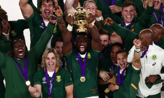 Rugby : l'Afrique du Sud sur le toit du monde