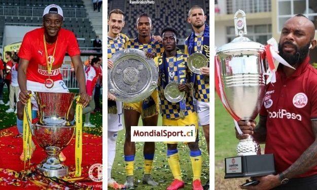 Saison 2019-2020 : Ibrahim Traoré, Guiagon Parfait, Serge Wawa … les Ivoiriens champions à l'étranger