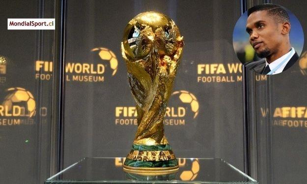 Samuel Eto'o rêve de voir une sélection Africaine remporter la Coupe du Monde