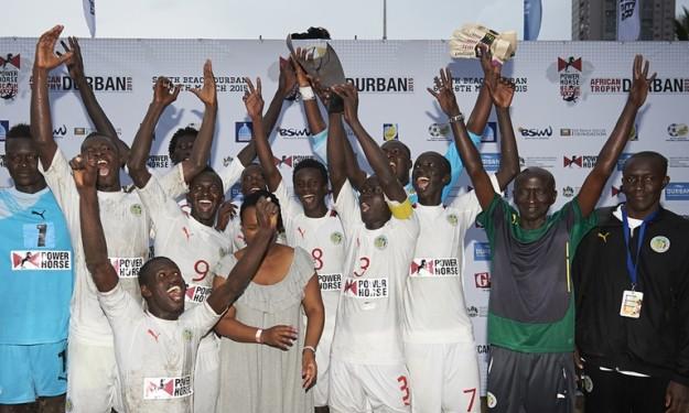 Sénégal : Vainqueurs de la dernière CAN, les lions du Beach Soccer réclament leurs primes de victoire