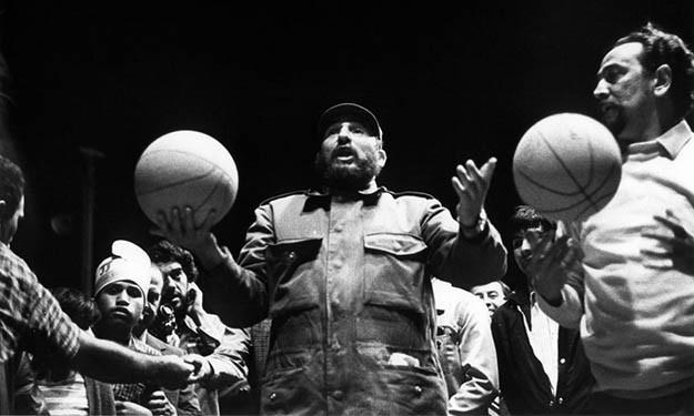 Souvenir : Fidel Castro, un amoureux insoupçonné du Basketball