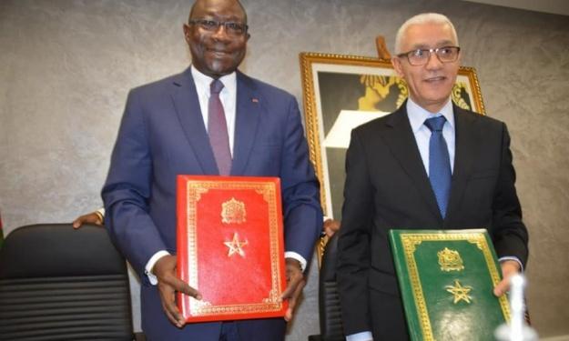 Sport : Accord de coopération signé entre la Côte d'Ivoire et le Maroc