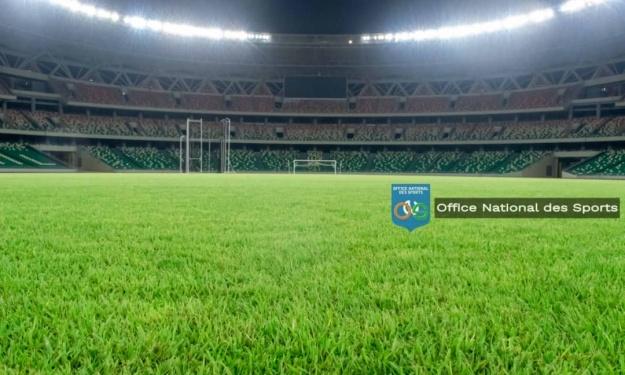 Stade d'Ebimpé : L'ONS réagit suite aux diverses plaintes relatives à la qualité de la pelouse