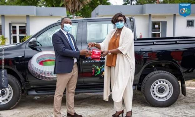 Stade Olympique d'Ebimpé : La Délégation dotée d'un véhicule de liaison