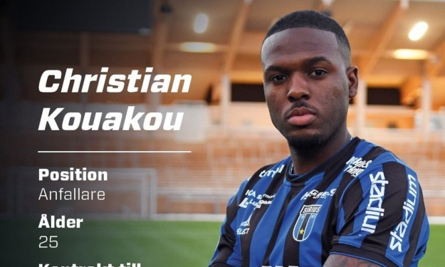 Suède : Christian Kouakou change de club