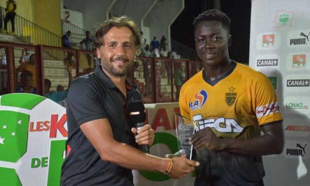 Super Division (J1) : Diakité Oumar sauve l'ASEC ; FC San Pedro, leader !