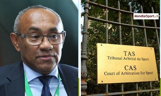 Suspendu par la FIFA, Ahmad Ahmad saisit le TAS