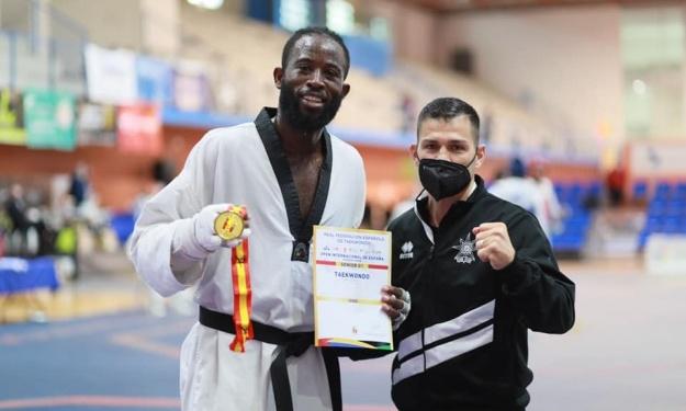 Taekwondo : Cheick Cissé en Or à l'Open International d'Espagne