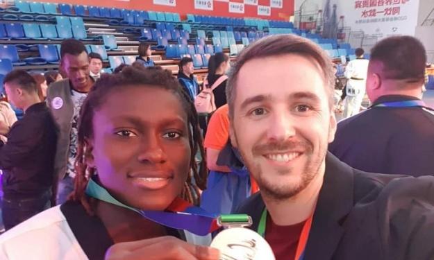 Taekwondo : Gbagbi Ruth décroche l'Argent en Chine