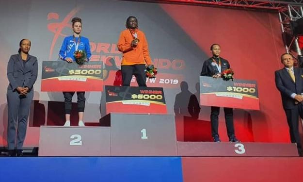 Taekwondo : Gbagbi Ruth décroche l'Or à Moscou et se qualifie pour les Jeux Olympiques