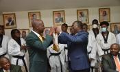Taekwondo : Médaillés à Dakar, les Eléphants ont été reçus en audience par Danho Paulin
