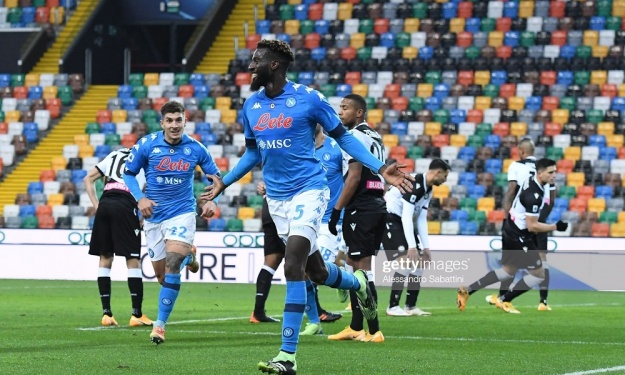 Tiémoué Bakayoko débloque son compteur et offre la victoire à Naples