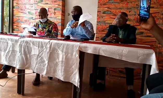 Toilettage des textes à l'Africa, AG Élective, Parrainage : Bahi Antoine et Menegnan Emile annoncent les couleurs