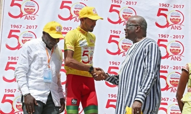 Tour du Faso : le Marocain Salaheddine Mraouni grand vainqueur