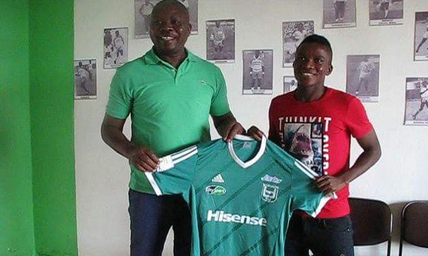 Transfert - Benjamin HEDJAKPO débarque à l'Union Sportive de Douala