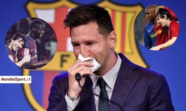 ''Tu as rendu mon rêve spécial…'' : Yaya Touré et Samuel Eto'o élogieux envers Messi