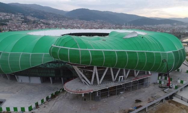 """Turquie : Le """"Timsah Arena"""", ce stade unique en forme de Crocodile"""