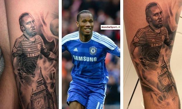 Un fan de Chelsea immortalise Drogba
